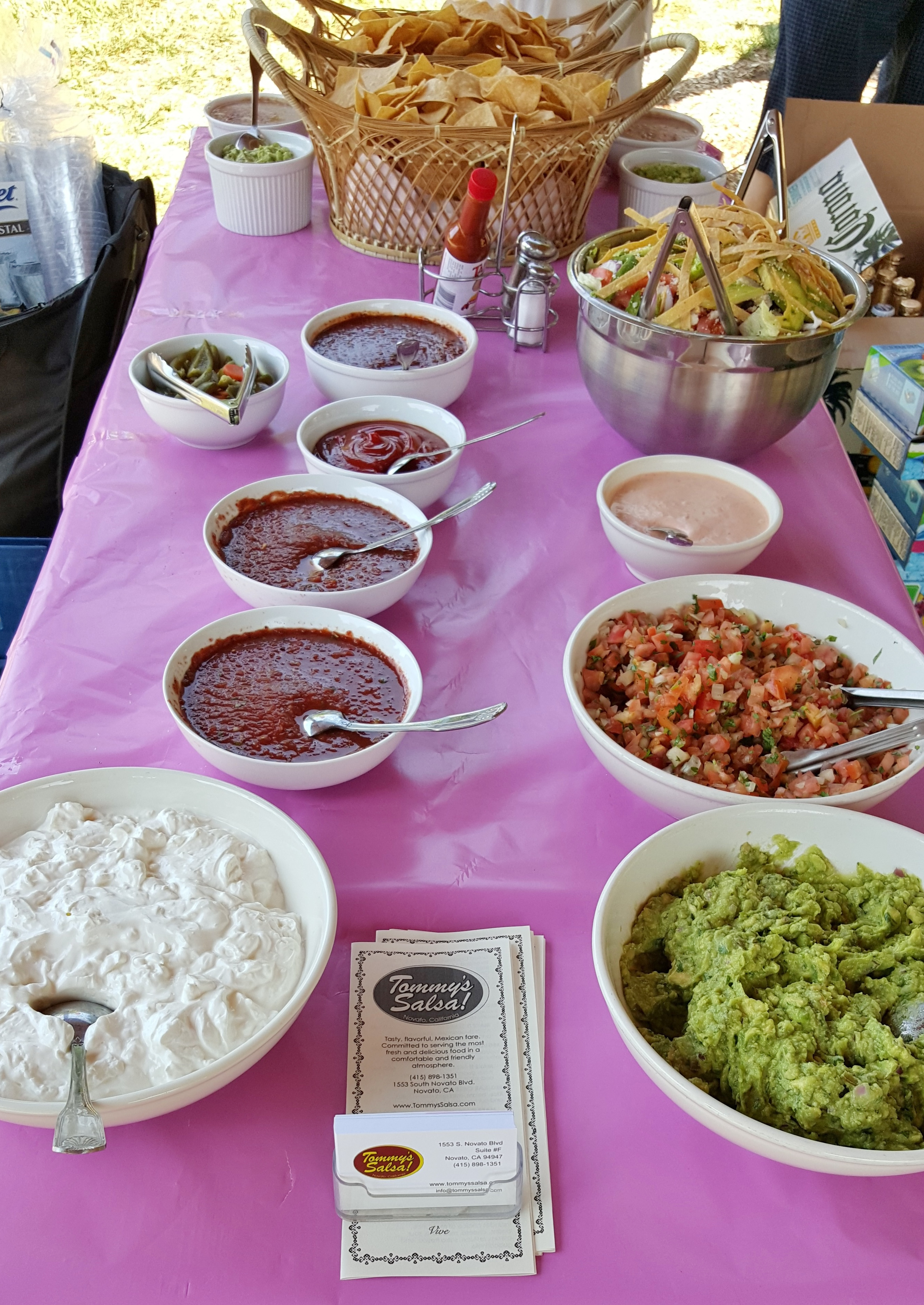 tommy s salsa catering mexican food taco bar platters in novato