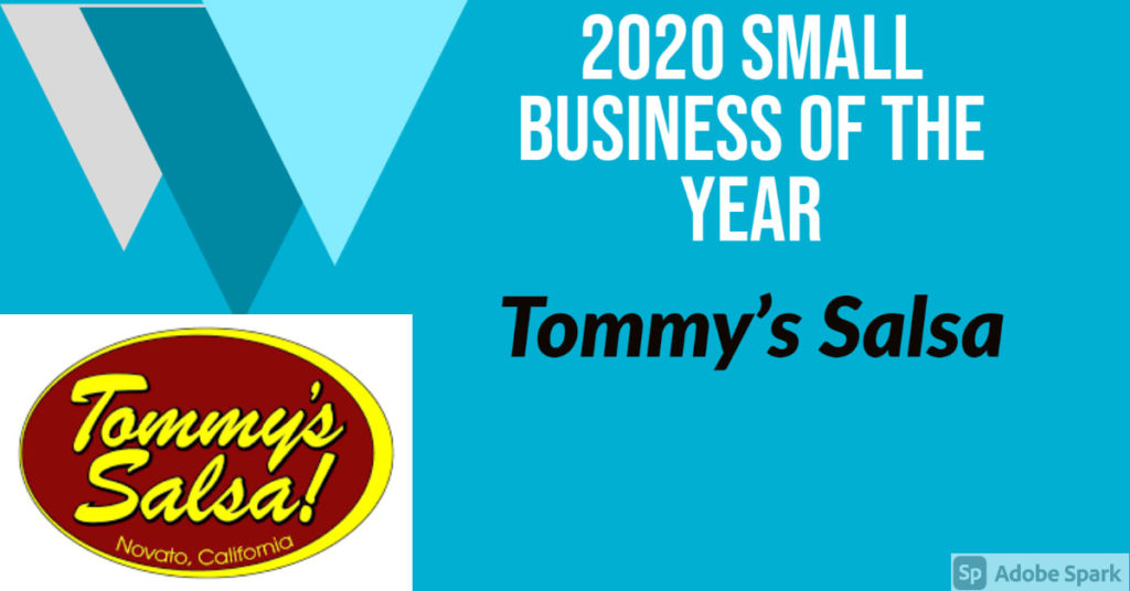 Tommy's Salsa Small Business of the Year 2020